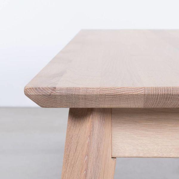 bSav & Økse Gunni Dining Table Bench Oak Whitewash