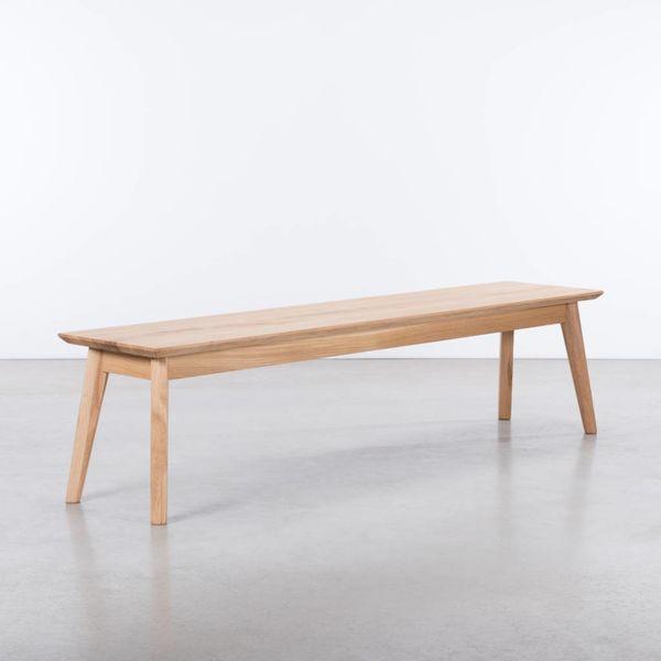 bSav & Okse Gunni Dining Table Bench Oak