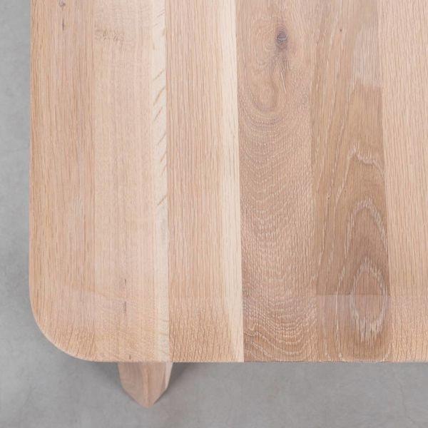 bSav & Okse Samt Dining Table Bench Oak Whitewash