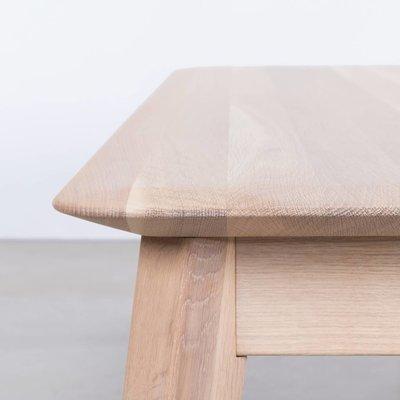 Sav & Økse Samt Dining Table Bench Oak Whitewash