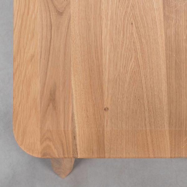 bSav & Okse Samt dining room bench oak