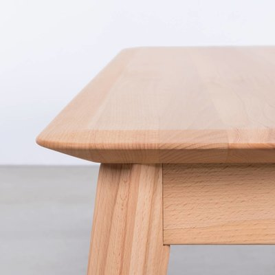 Sav & Okse Samt Dining Table Bench Beech