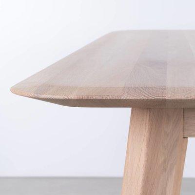Sav & Økse Samt Table Oak Whitewash