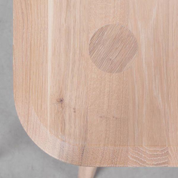bSav & Okse Olger Desk Oak Whitewash