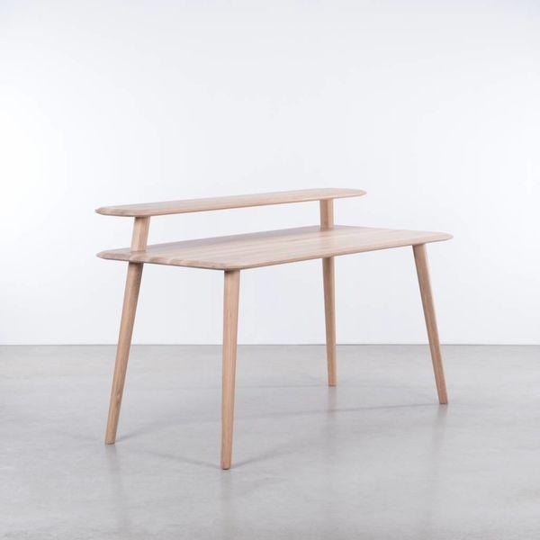 bSav & Økse Olger Desk Oak Whitewash