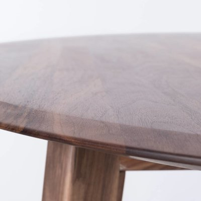 Sav & Okse Samt oval walnut table