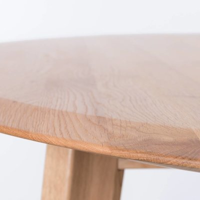 Sav & Okse Samt oval table Oak