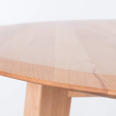 Sav & Okse Samt oval table Beech
