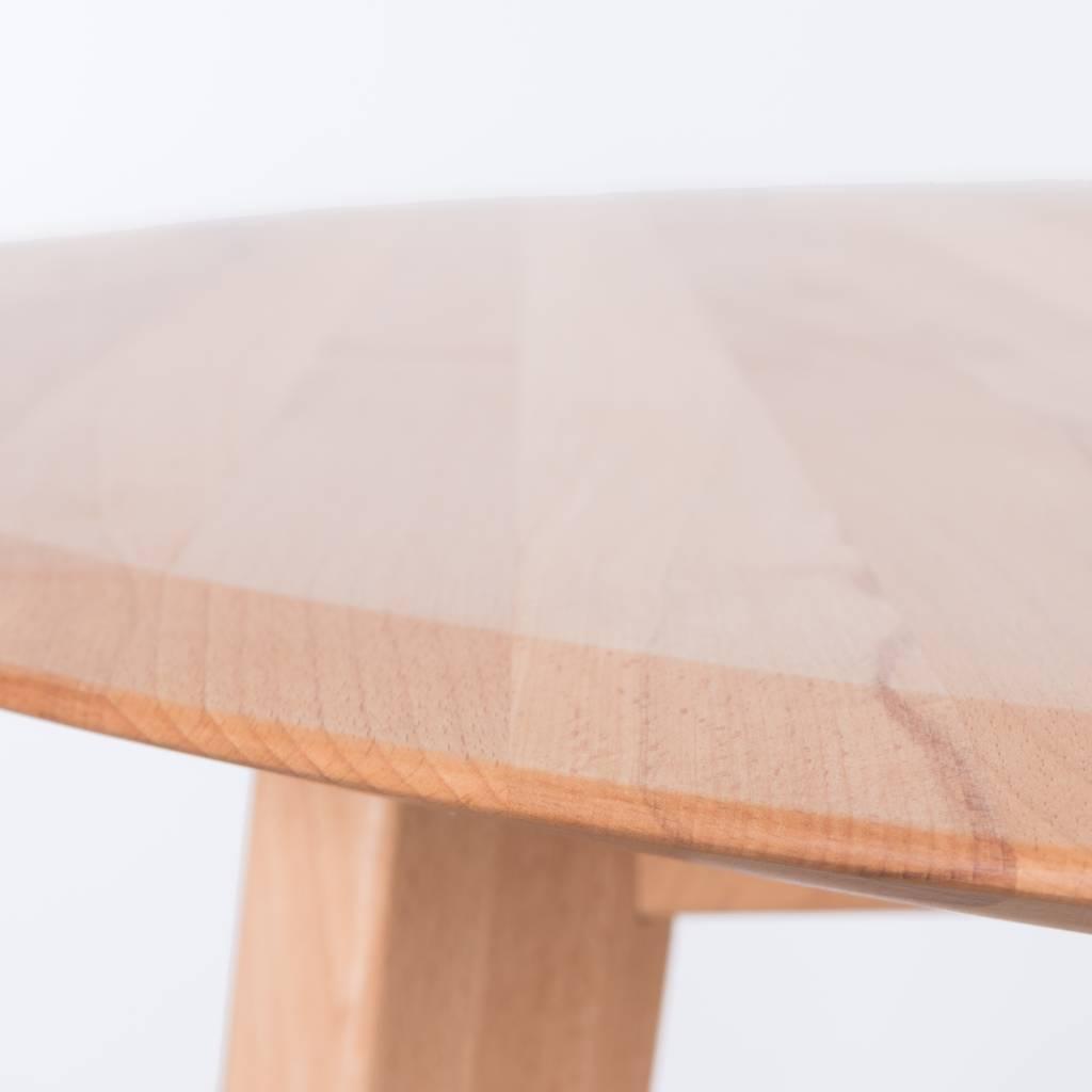 Beuken Uitschuifbare Eettafel.Sav Okse Samt Ovale Tafel Beuken
