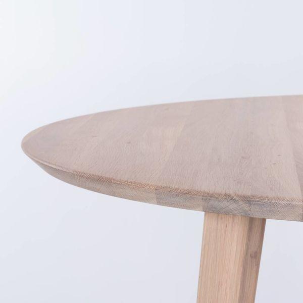 bSav & Økse Tomrer round table Oak Whitewash