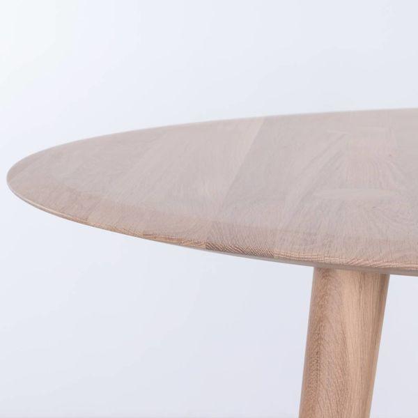 bSav & Okse Olger round table Oak Whitewash