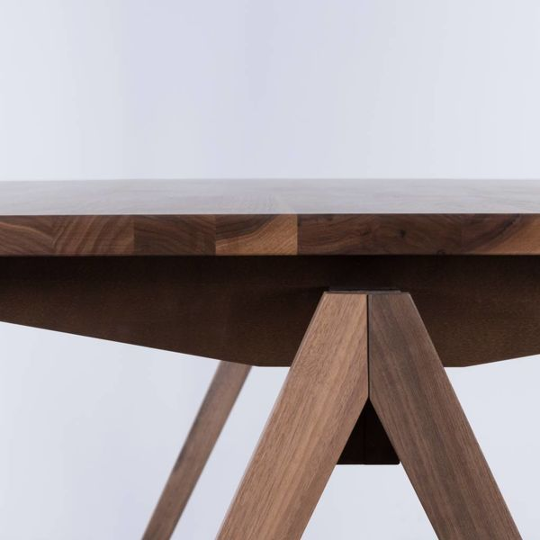 bSav & Okse TD4 Walnut Wood Table