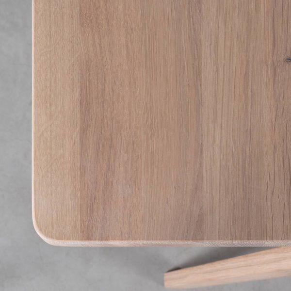 bSav & Økse TD4 Wood Table Oak Whitewash