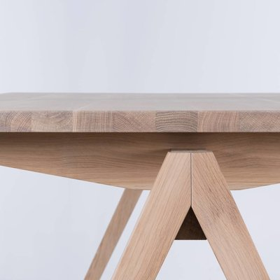 Sav & Okse TD4 Wood table Oak Whitewash