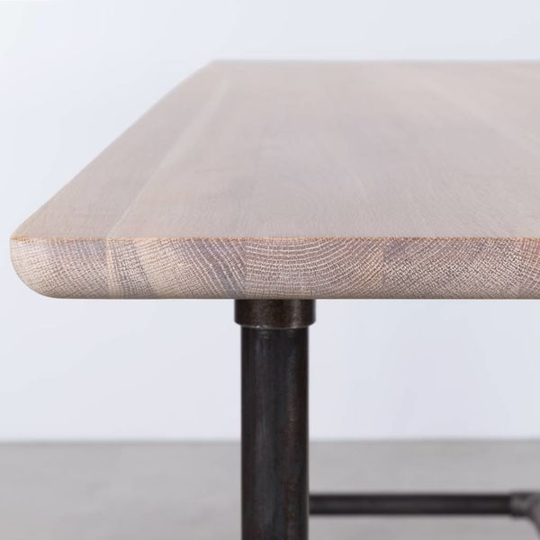 bSav & Økse Ditte Table Oak Whitewash
