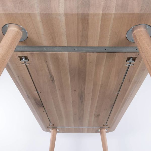 bSav & Okse Olger table Oak Whitewash