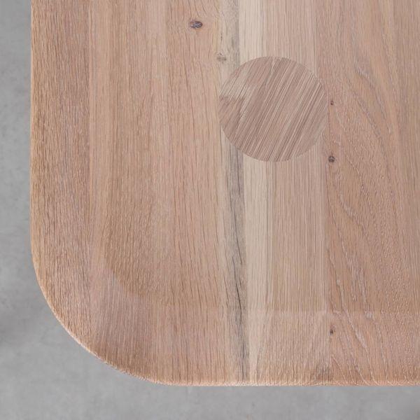 bSav & Økse Olger Table Oak Whitewash