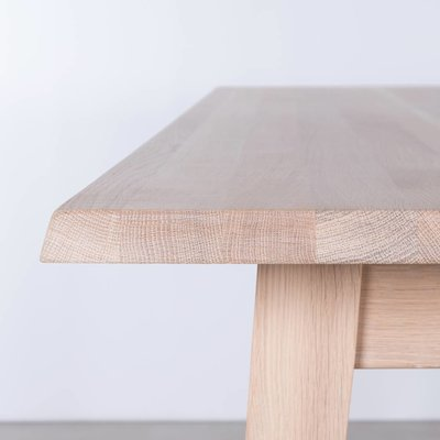 Sav & Økse Illum Tafel Eiken Whitewash