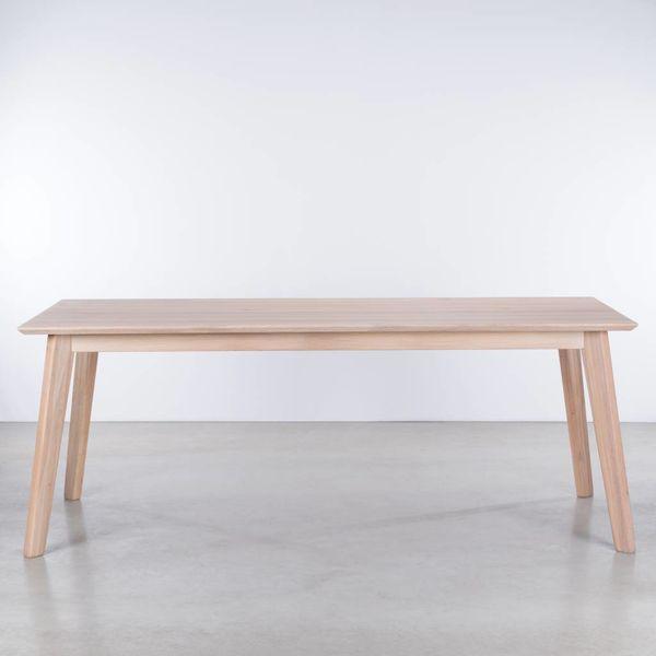 bSav & Økse Gunni table Oak Whitewash