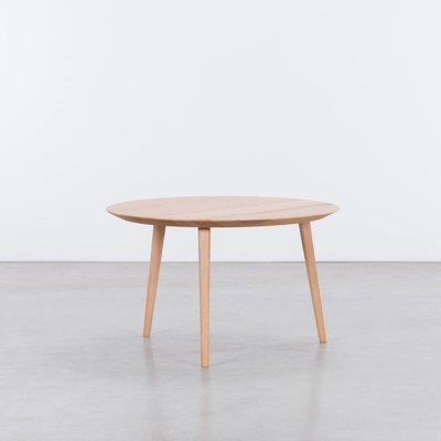 Sav & Økse Tomrer Coffee table Round Beech - 3 Leg