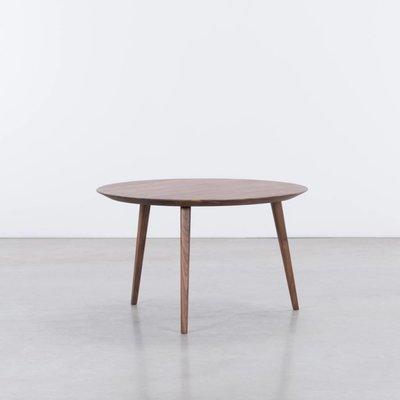 Sav & Økse Tomrer Coffee Table Round Walnut - 3 Legs