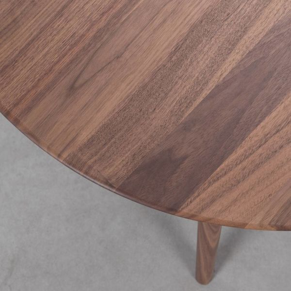 bSav & Okse Tomrer Coffee Table Round Walnut - 3 leg