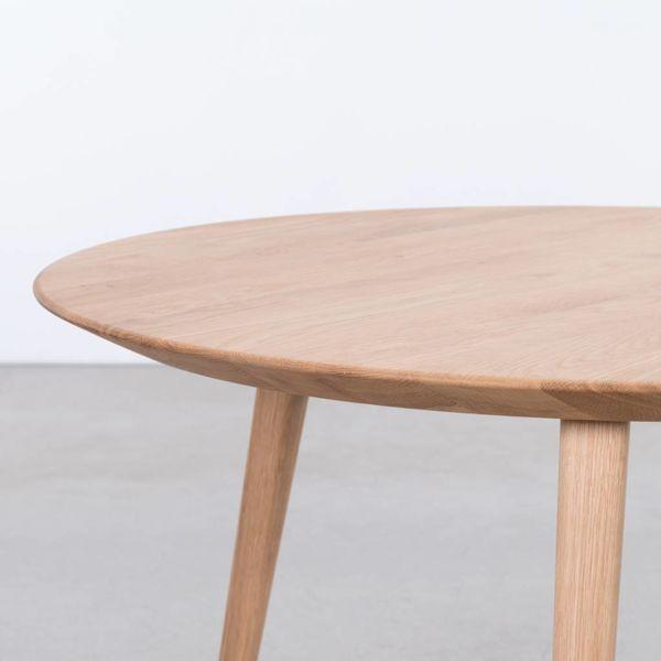 bSav & Økse Tomrer Coffee Table Round Oak - 3 Legs