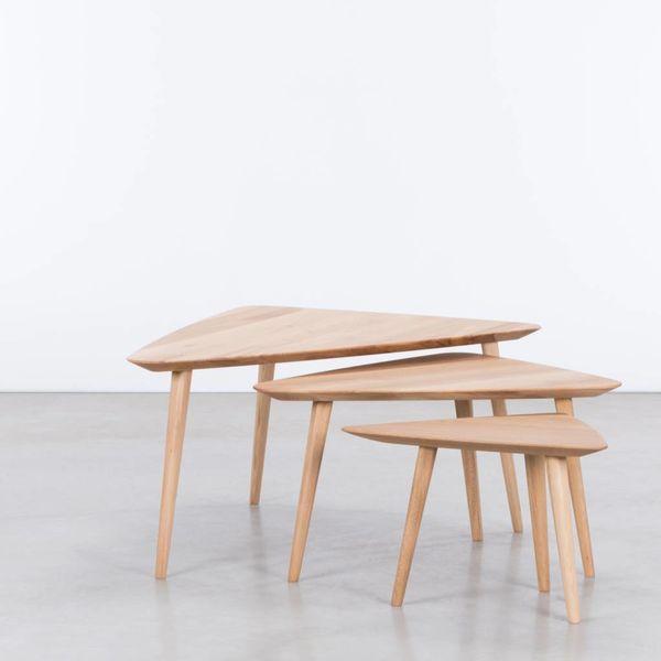 bSav & Okse  Tomrer Coffee table Oak Oiled