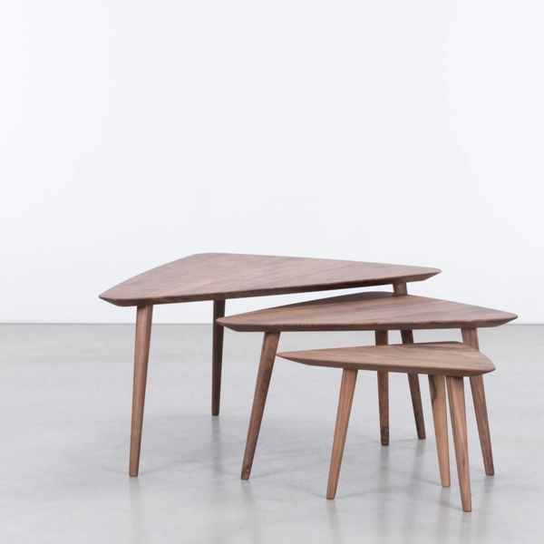 bSav & Okse Tomrer Coffee table Walnut