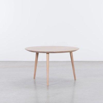 Sav & Økse Tomrer Coffee table Round Oak Whitewash - 3 Legs