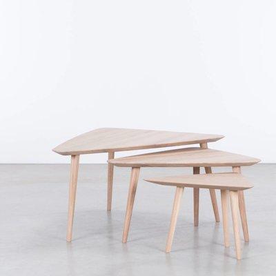 Sav & Økse Tomrer Coffee Table Oak Whitewash