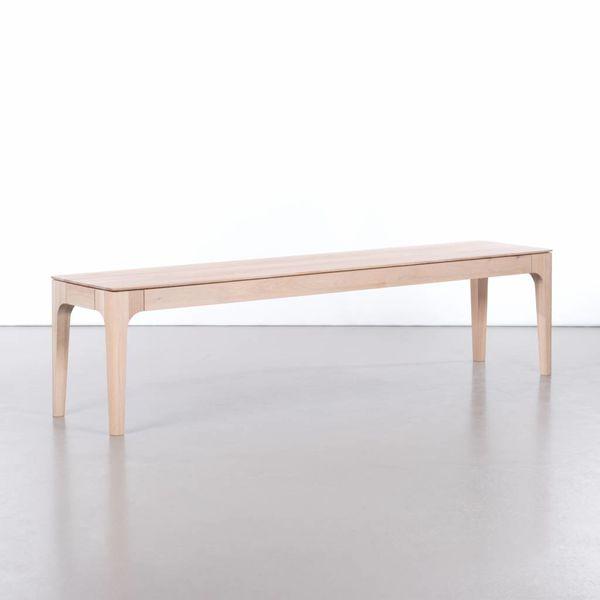 bSav & Økse Rikke Dining Table Bench Oak Whitewash