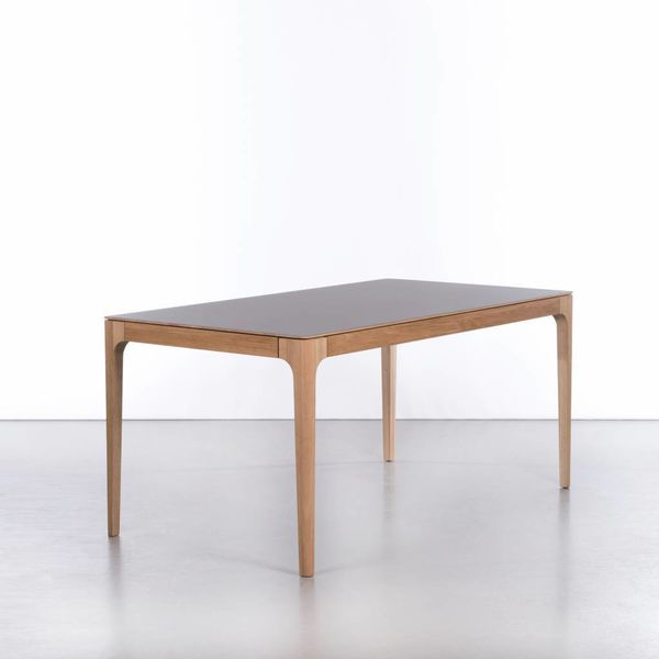 bSav & Okse Rikke Table Extendable Oak with Fenix top