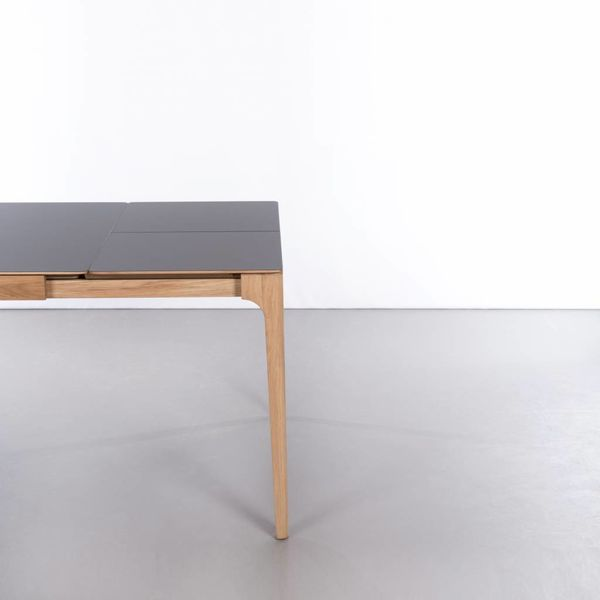 bSav & Okse Rikke Table Extendable Beech with Fenix top
