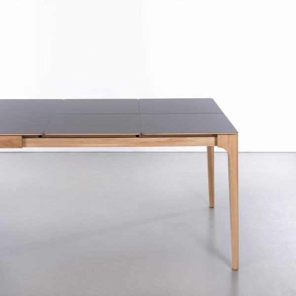 bSav & Okse Rikke Table Extendable Walnut With Fenix Top