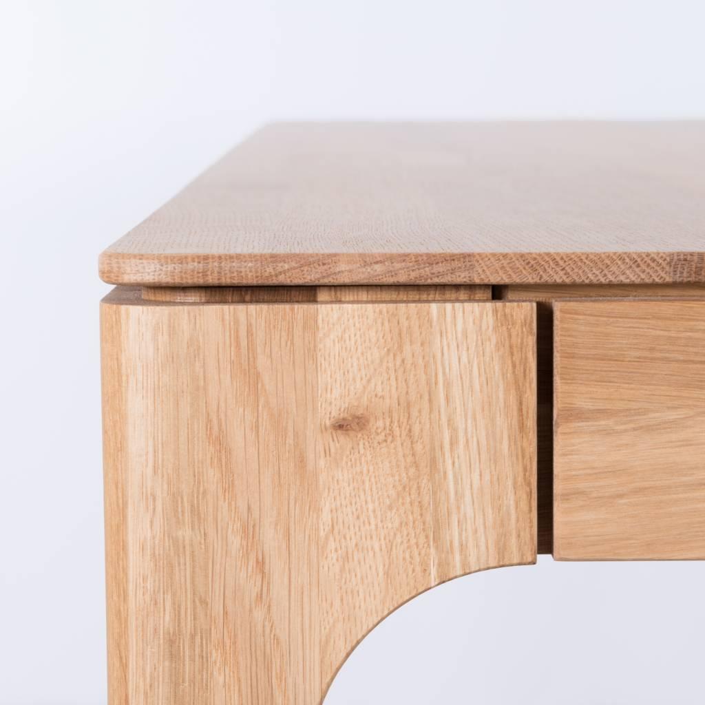 Eikenhouten Uitschuifbare Eettafel.Sav Okse Rikke Tafel Uitschuifbaar Eiken