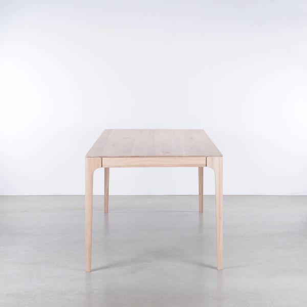 bSav & Okse Rikke Table Extendable Oak whitewash
