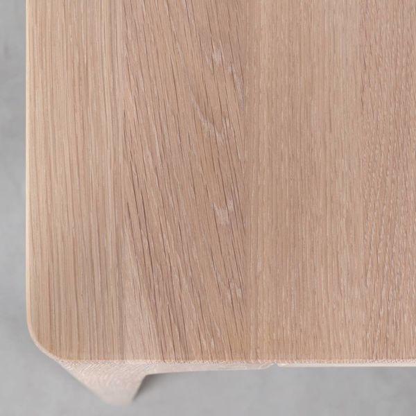 bSav & Okse Rikke Tafel Uitschuifbaar Eiken whitewash