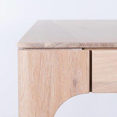 Sav & Økse Rikke Table Extendable Oak Whitewash
