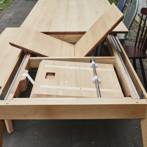 bSav & Okse Gunni tafel uitschuifbaar Eiken