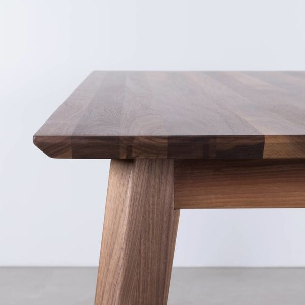 bSav & Okse Gunni tafel uitschuifbaar Walnoot