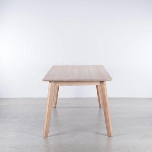 bSav & Okse Gunni tafel uitschuifbaar Eiken Whitewash