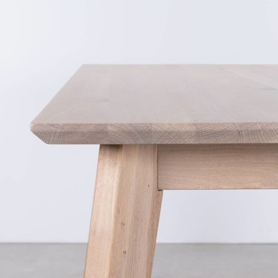 Sav & Okse Gunni tafel uitschuifbaar Eiken Whitewash