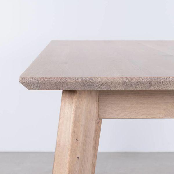 bSav & Okse Gunni table extendable oak whitewash