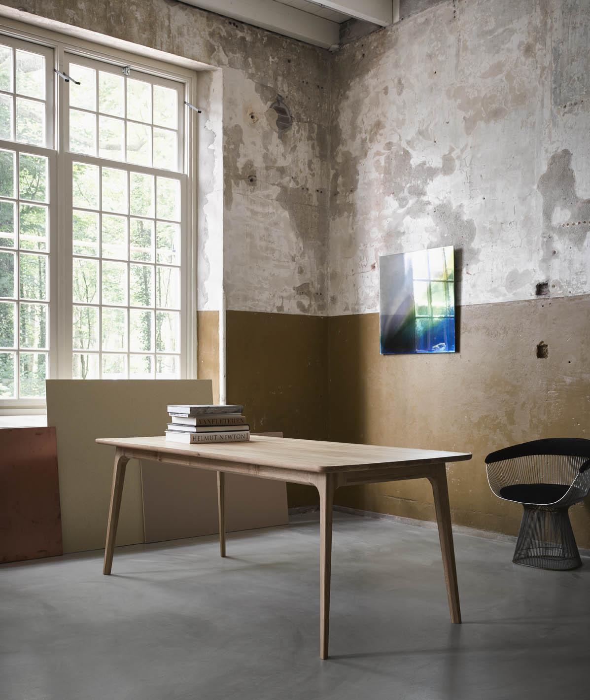Fjerre Scandinavische houten tafel