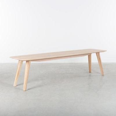 Sav & Okse Olger Dining table bench Oak Whitewash