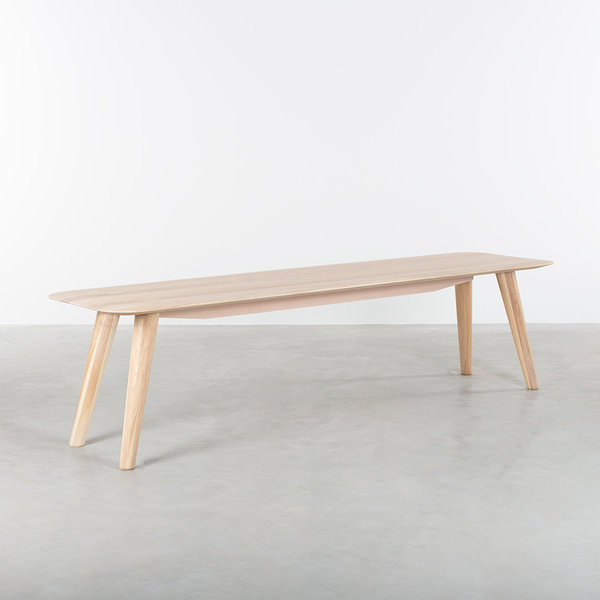 bSav & Okse Olger Dining Table Bench Oak Whitewash