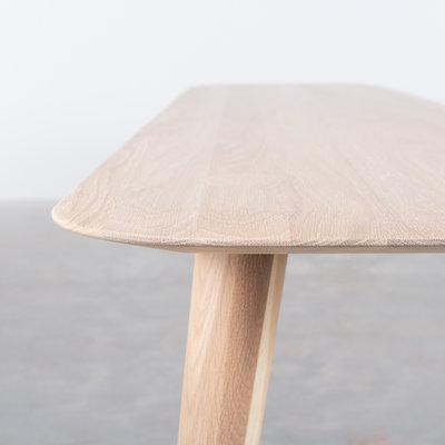 Sav & Økse Olger Dining Table Bench Oak Whitewash
