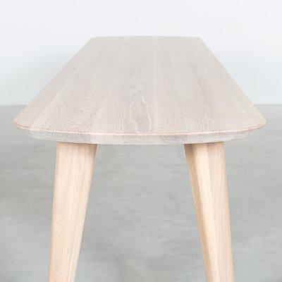 Sav & Økse Tomrer Dining Table Bench Oak Whitewash