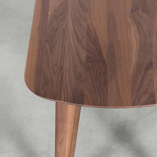 bSav & Økse Tomrer Dining Table Bench Walnut